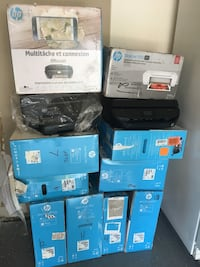 Lot of 12 printers mostly need setup ink (resellers) Charlotte, 28215