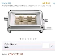 white and gray Cuisinart toaster oven screenshot Toronto, M4H 1L7