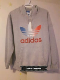 gray and red adidas pullover hoodie Edmonton, T5E 3S4