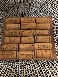 Handcrafted hot plate from wine corks Apopka, 32703