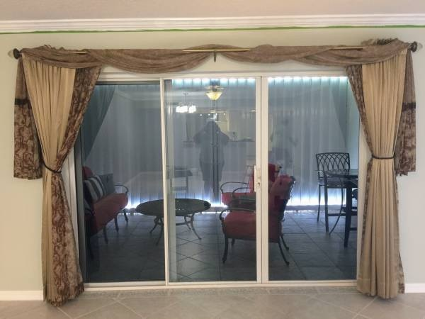 Used Shear Curtains With Scarf And Valance For Sale In Miami Letgo