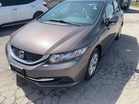 2013 Hoda Civic One Owner Accident Free Low KMs Brampton