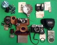 Vintage cameras and accessories-Argus,Yashica,Minolta,Vivitar,Kodalux,Soligor,Weston Master II Riverbank, 95367