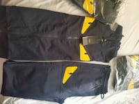Fendi monster hoody sweat suit. Navy blue. Toronto