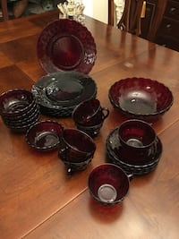 Ruby red from 1950 glassware set Potomac, 20854