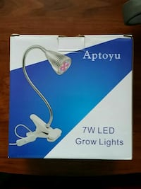 7W LED grow lights for plants. Sioux Falls, 57104