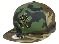 New York Yankees New Era MLB Camo O'Gold 9FIFTY Snapback Cap Markham