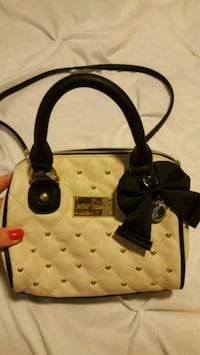 Betsy Johnson quilted mini purse