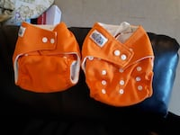 2 cloth diapers  1963 km