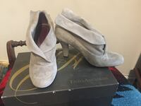 Suede booties: Enzo Angiolini. Like new in box.  San Francisco, 94123