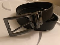 Double sided belt - black and brown 32/34 1701 mi