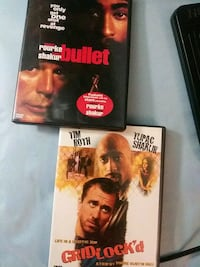 Bullet and Gridlock'd dvds