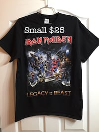 Iron maiden t shirt size small New Westminster, V3M 1B9