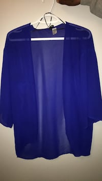 women's blue cardigan Oakville, L6H