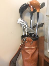 Macgregor Old Clubs w Antique Bag Delaware, 43015
