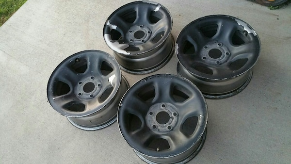 Steel Wheels For Sale >> Used 03 12 Dodge Ram Oem Steel Wheels For Sale In Dallas Letgo
