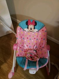 baby's pink and blue bouncer Fredericksburg, 22405
