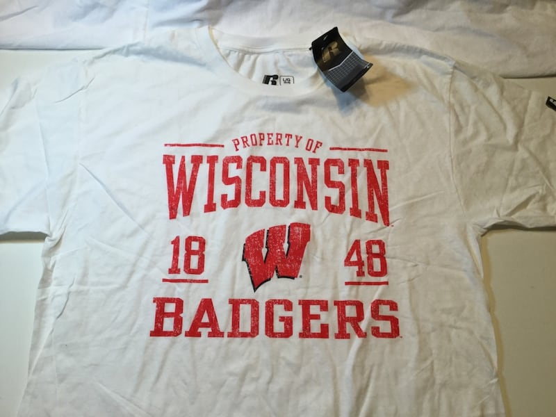 Wisconsin Badgers Established Shirt 7b93d6db-82e0-4fdd-ae3b-59bbe483f667