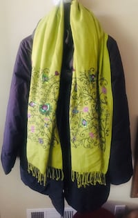 Lovely Embroidered shawl purchased in Paris  Paris Salt Lake City, 84109