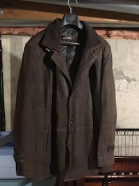 Men's Brown suede leather jacket.  Purchased at danier.   Excellent condition.  Must see. Brantford, N3R 7A1