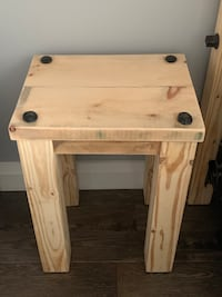 Rustic Side End Night Tables Caledon East, L7C 3S3
