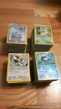 500 Pokemon trading cards for sale Toronto, M9N 2A4