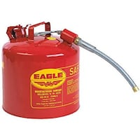 Eagle steel safety gas can  Vancouver, V5W 3N7