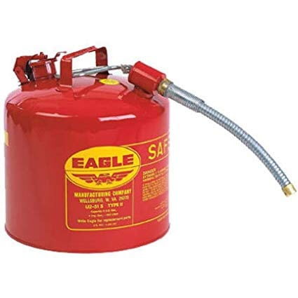 Eagle steel safety gas can