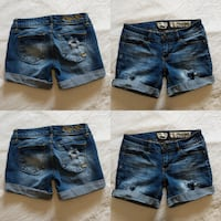 Jean shorts size 3 like new