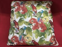 "American Mills Floral Birds 22"" Square Soft Plush Accent Down Feather Pillow Las Vegas, 89131"