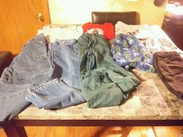Boys size 10/12 mixed lot