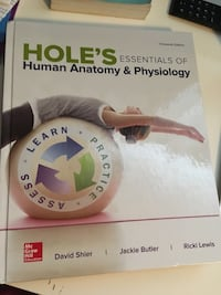 Hole's Essentials of Human Anatomy & Physiology  Hamilton, L8W 3J8