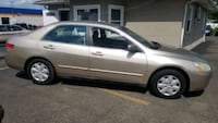 2003 accord 160K MILES.  CLEAN.  RUNS GREAT  Akron, 44319