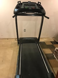 Black and gray automatic treadmill Manassas, 20110
