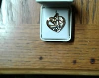 silver and diamond ring with box Fenton, 63026