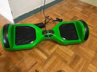 Green and black self balancing board Brampton