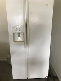 white side-by-side refrigerator with dispenser Peoria, 85345