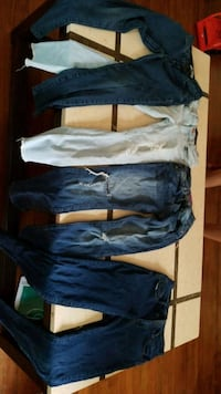two pairs of blue and white pants Portland, 97266