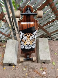 landyachtz switch 35 tiger skateboard  Montréal, H2R 2S6