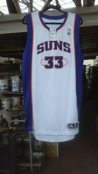 autograhphed nba jersey