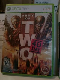 Xbox 360 game $15.00 O.B.O Winnipeg, R2R 2V6