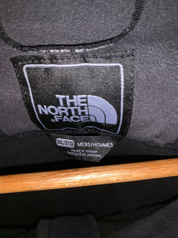 Men's North Face Jacket in Black and Grey - 3XL Jacket 2087435d-b97a-4e82-b086-9ac07da36d28