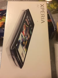 Sony xperia android smartphone box