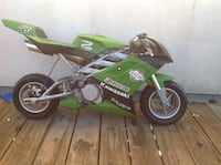 Kawasaki pocket bike Langley, V3A