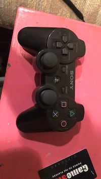 black Sony PS3 game controller Aurora, 60506