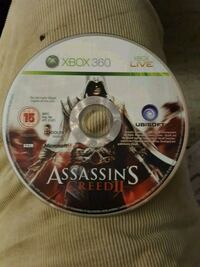Xbox 360 Assassin's Creed 3 game disc