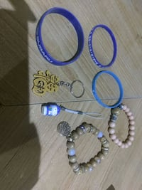 Bracelets and Key chains