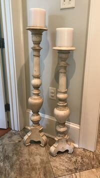 Antiqued Candle Stands Houma, 70360