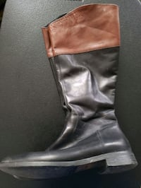 Italian Leather Boots size 40 9 US