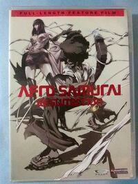 Afro Samurai Resurrection dvd Glen Burnie